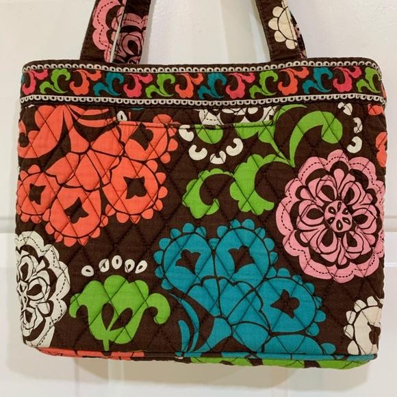 Vera Bradley Handbags - Vera Bradley Small Tote Handbag in Lola - Retired